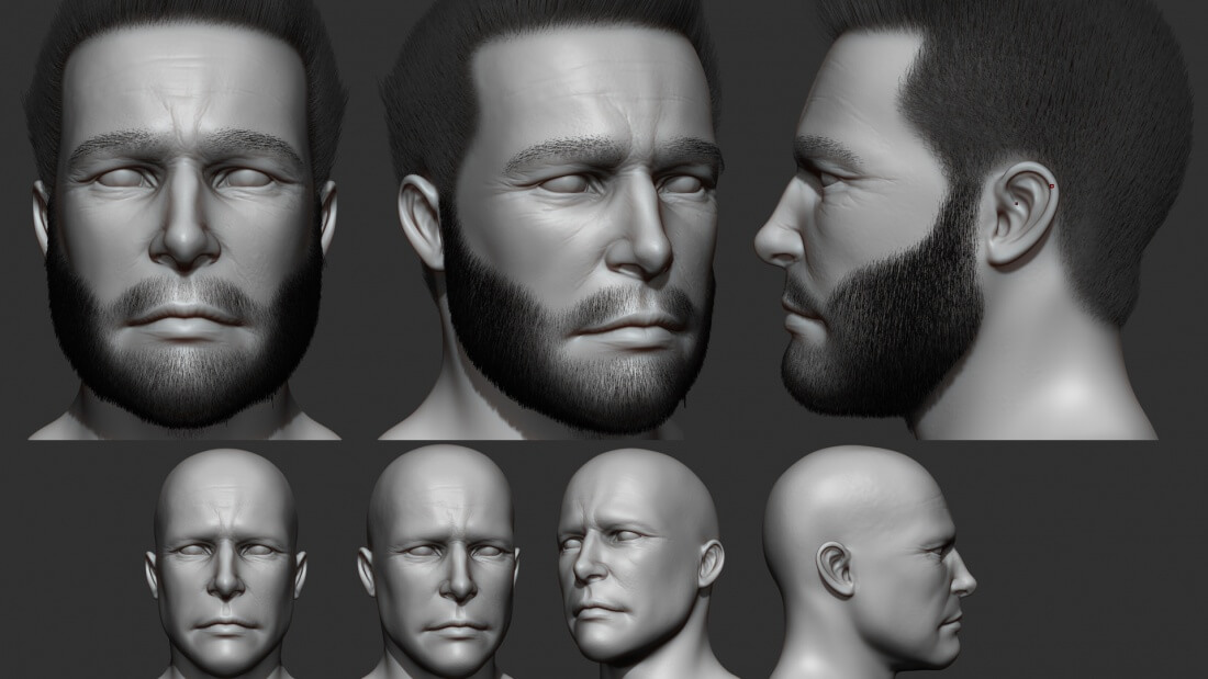 Modeling Pilot Face
